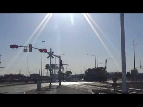 Maritime St (Main Branch Line) Railroad Crossing Video (Part 1)