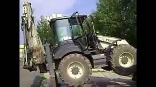 Технолгическая мойка экскаватора-погрузчика TEREX 970, ООО