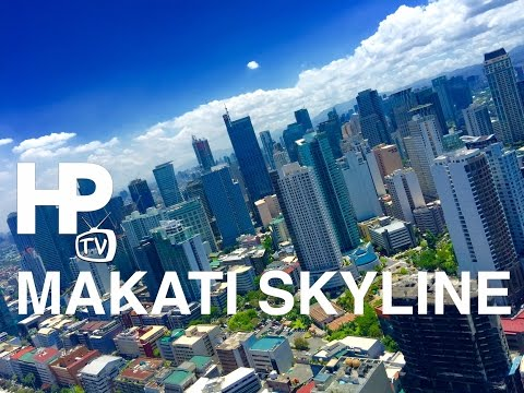 Makati Skyline 2016 Clear Day with View of Manila Bay by HourPhilippines.com
