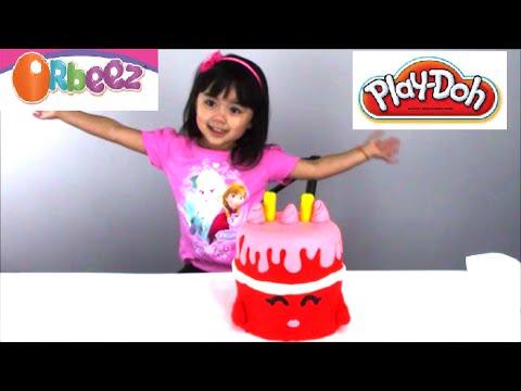 Orbeez Surprise Play Doh Cake OpenMoreToys Happy Birthday Song