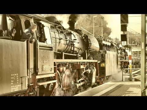 Steam Train Sounds | Steam Train Journey - YouTube