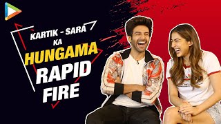 Kartik-Sara at their FUNNIEST- Try Not To Laugh | Rapid Fire | Saif Ali Khan | Taimur | Love Aaj Kal