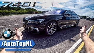 BMW 7 SERIES G11 740i REVIEW POV TEST DRIVE by AutoTopNL