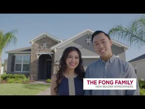Beazer Homes Testimonials Homeowner Reviews The Fongs Youtube