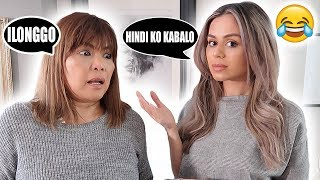 ILONGGA MOM SPEAKS HER DIALECT TO BRITISH DAUGHTER!