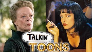 Dame Maggie Smith Joins Pulp Fiction (Talkin