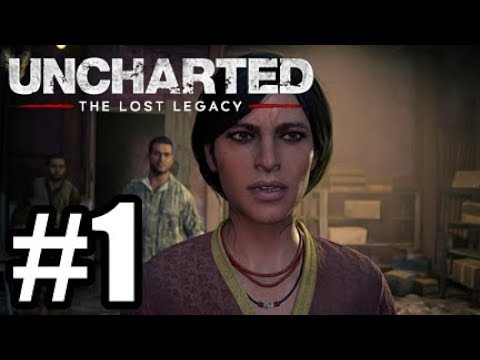 Uncharted The Lost Legacy PS4 #1 - Behind Enemy Lines!
