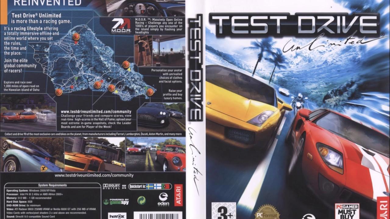 Test Drive Unlimited PC Soundtrack - 2 - Garage Theme HQ OST