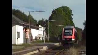 Die Rothaarbahn zwischen Erndtebrück und Bad Berleburg