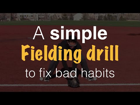 Youth Baseball Fielding Drills - Teach pro fielding mechanics (even at a young age!)