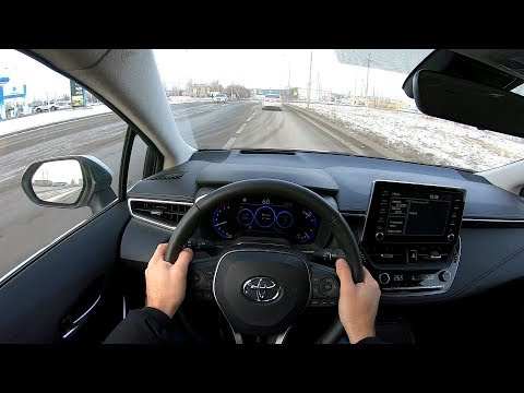2019 Toyota Corolla 1.6L (122) POV TEST DRIVE