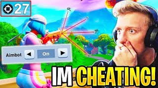 Tfue USES *HUMAN AIMBOT* in PRO SCRIMS! (Fortnite)