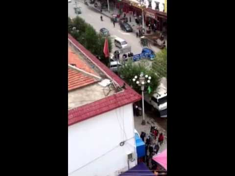 Monk arrested after lone protest in Ngaba County of Amdo, Tibet