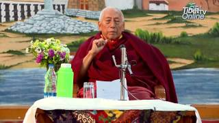 Prof. Samdhong Rinpoche Addresses Teachers and Staff of Upper TCV School