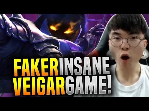 Faker Makes the Perfect Game with Veigar! - SKT T1 Faker Plays Veigar Mid! | SKT T1 Replays