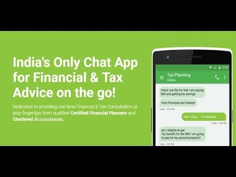 MINTY - India's Only Chat App for Financial & Tax Advice on the go!