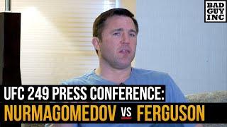 Is Tony Ferguson sparring in preparation for Khabib Nurmagomedov?