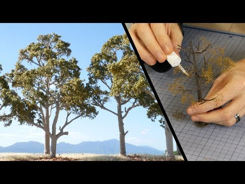 Terrific Trees using Woodland Scenics Armatures (It is possible!) – Model Scenery Tutorial