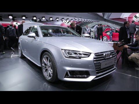 2017 Audi A4 - 2015 Frankfurt Motor Show
