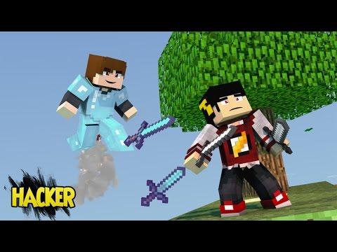 Minecraft: SKY WARS - Estava Fácil até chegar HACKER! ‹ AM3NIC ›