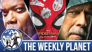 Glass & Spider-Man: Far From Home Trailer - The Weekly Planet Podcast