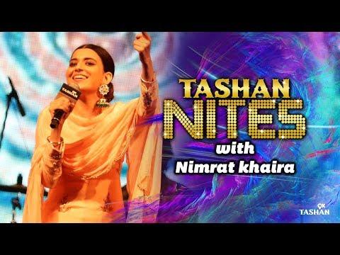 Nimrat Khaira| LIVE Performance| Tashan Nites| 9X Tashan