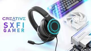 They CLAIM Its The Best Gaming Headset - Creative SXFI Gamer Review