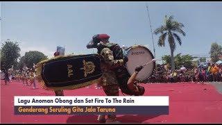 Lagu Anoman Obong dan Set Fire To The Rain Gita Jala Taruna Performs at Sidoarjo