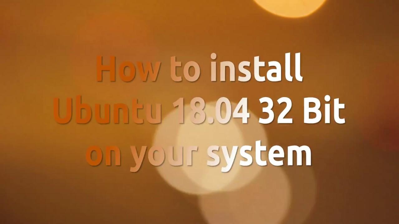 ubuntu server download 32 bit