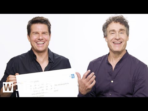 Tom Cruise & Doug Liman Answer the Web's Most Searched Questions   WIRED