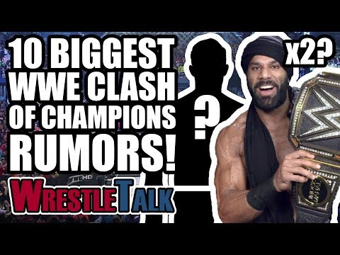 10 WWE Clash Of Champions RUMORS & Surprises You Need To Know! | WrestleTalk News Dec. 2017