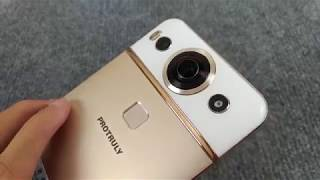 Trên tay Protruly Darling D7 tại Việt Nam - Smartphone tích hợp camera 360 độ đầu tiên trên thế giới