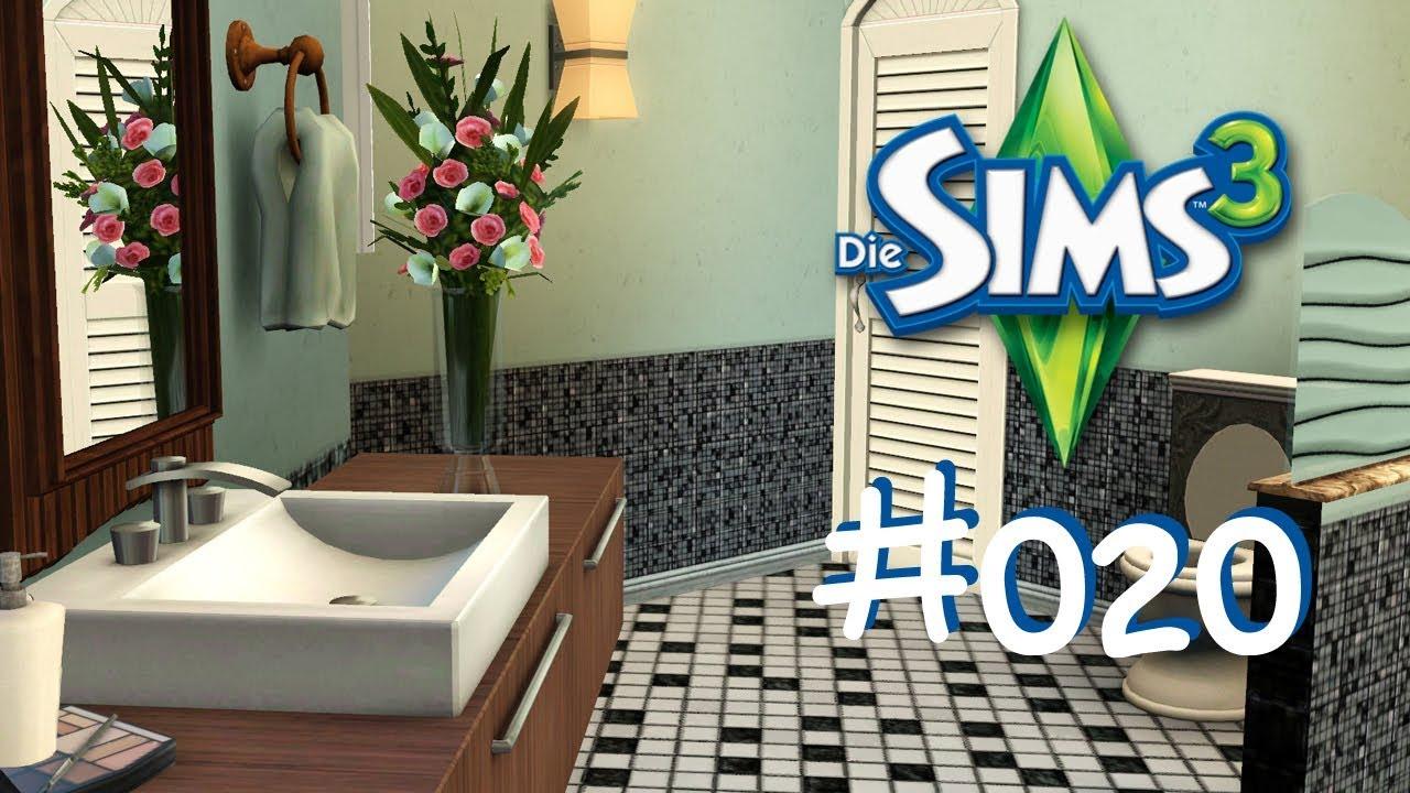 Die Sims 3 #020 Baufolge Teil 6 - Badezimmer