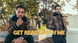 Mens Long Hair and Outfit Inspiration | Chill Get Ready With Me - Casual Outfit