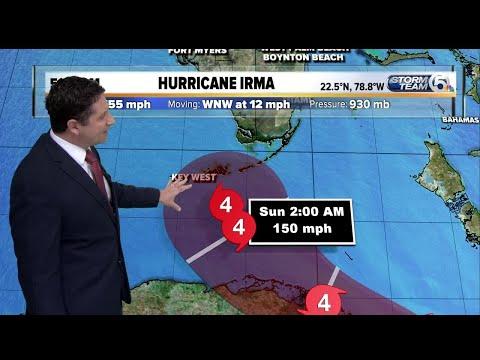 5 a.m. Saturday Irma update