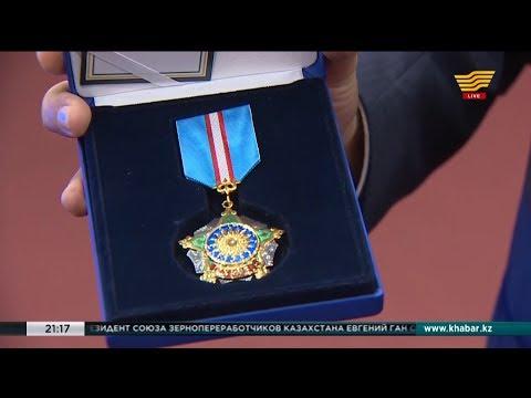 Орденом «Курмет» наградили Первого заместителя Председателя Правления АО «Агентство «Хабар»