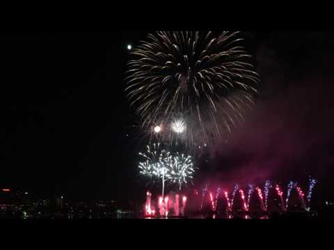 July 4, 2017 Boston Fireworks 4K HD