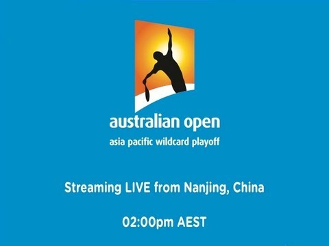 Asia/Pacific Wildcard Play-off Day 3 - Australian Open 2013