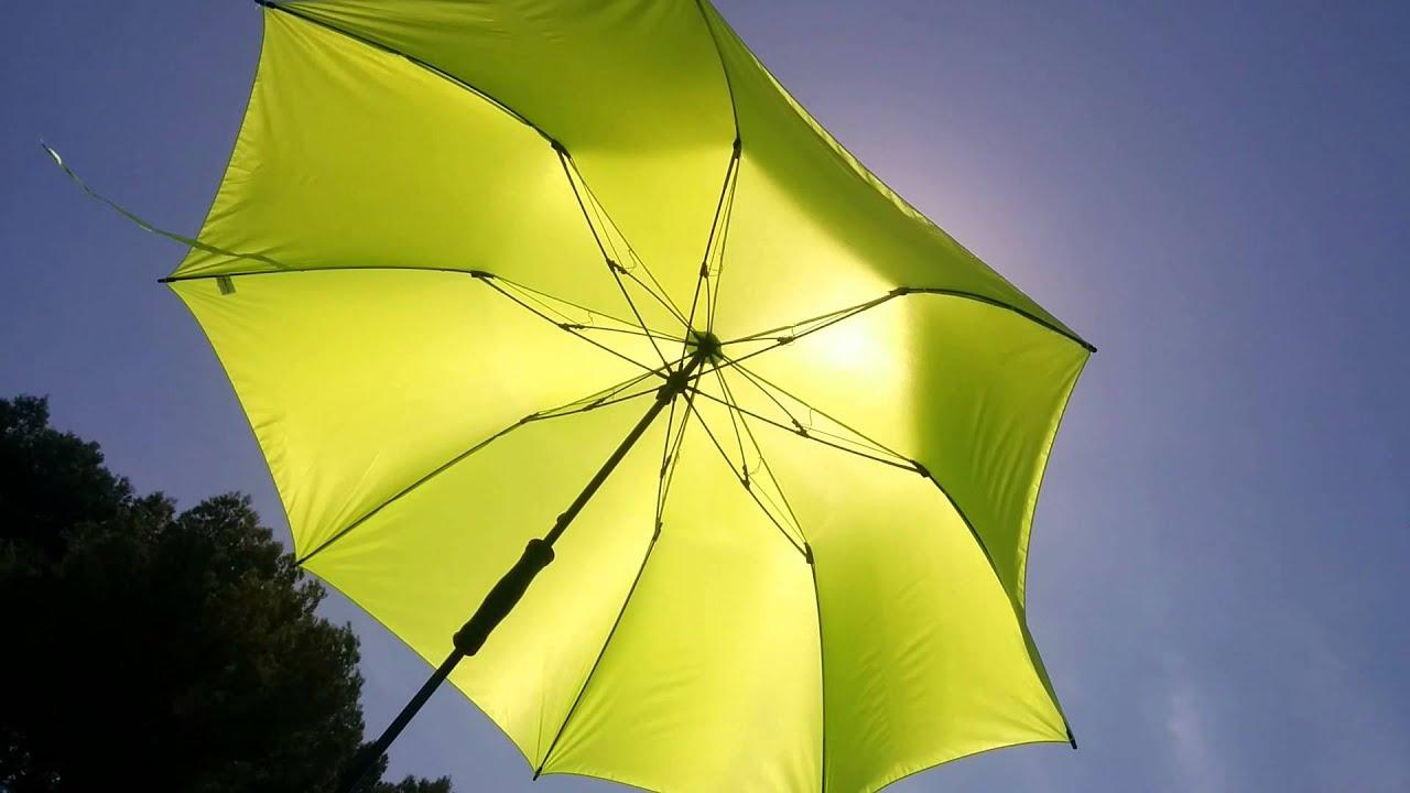 6139 Fare Camper Strand Sonnenschirm Verhalten Im Wind Youtube