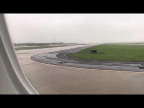 United Embraer 175 Landed At Dulles Intl Airport #NFLDraft