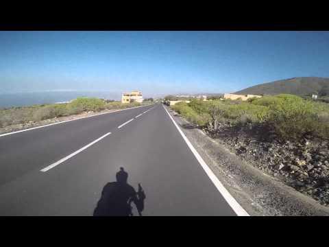 Tenerife. Downhill from Vera de Erques.Clip.