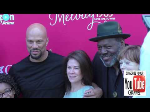 Common, Frankie Faison and Frances Fisher at the Premiere Of Amazon Studios' An American Girl Story