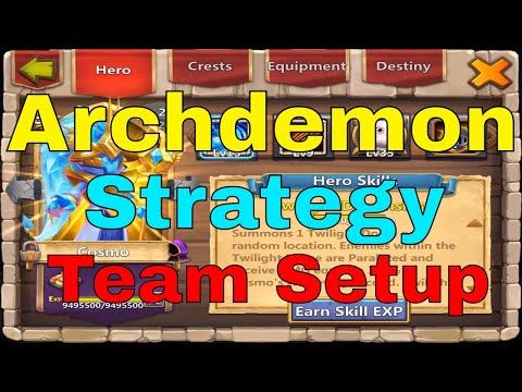 Castle Clash Archdemon Strategy, Hero Setup, Team Building, And Gameplay