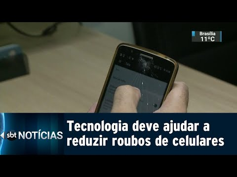 Sistema de bloqueio deve reduzir roubos de celulares no Rio de Janeiro | SBT Notícias (21/07/18)