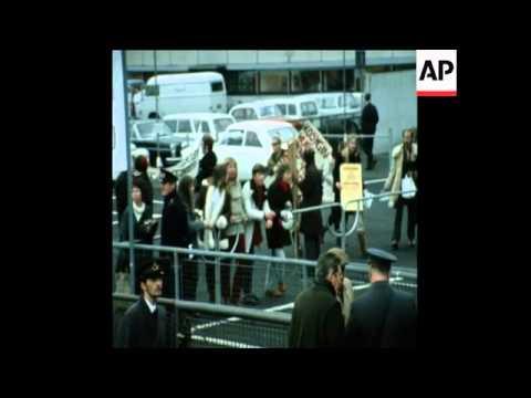 SYND 2 12 71SOVIET PREMIER KOSYGIN ARRIVES IN DENMARK