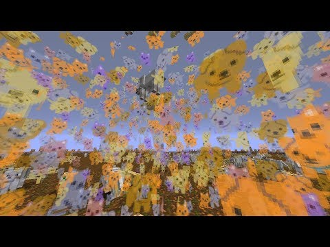Literally Raining Cats and Dogs in Minecraft!