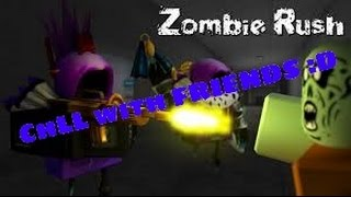 *WHY CHASE ME??? *-Zombie Rush (ROBLOX)