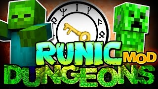 Minecraft Mod   RUNIC DUNGEONS MOD! (Epic Loot from Dungeon Rooms!) - Mod Showcase