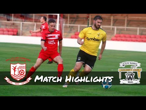 Ballyclare H&W Welders Goals And Highlights