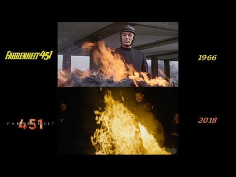 Fahrenheit 451 (1966/2018) Side-by-Side Comparison
